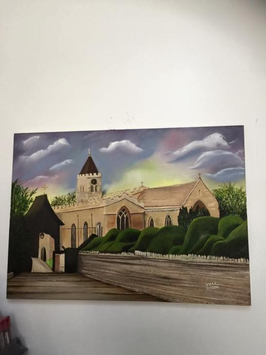 All Saint's Church in spring